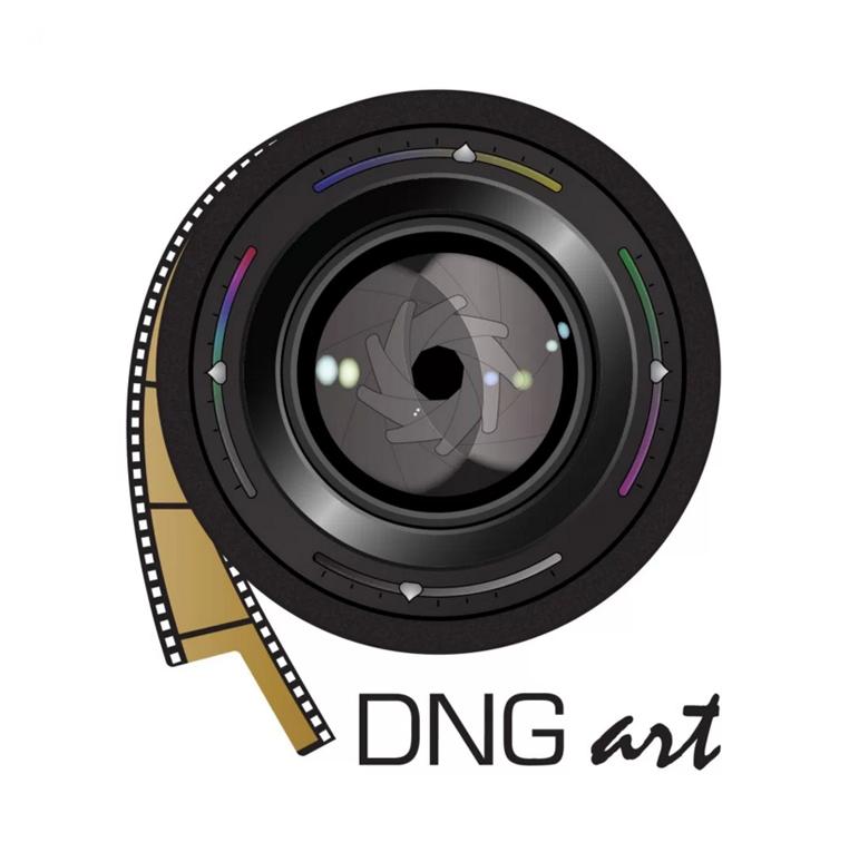 DNG Art Logo Camera Lens