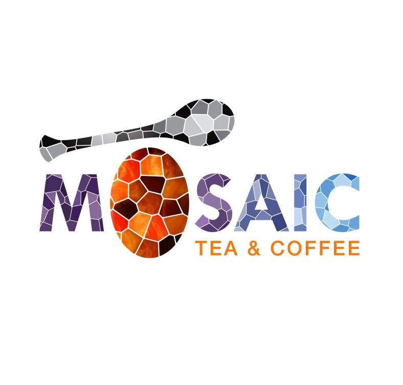 Mosaic Tea and Coffee Logo By Smartz Graphics