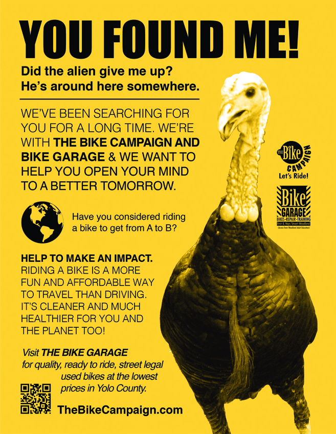 The Bike Campaign You Found Me Turkey Flyer
