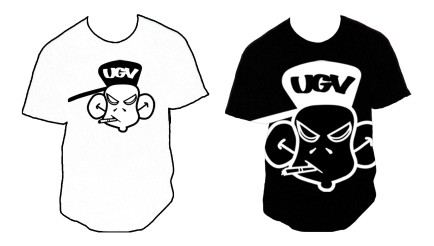 UGV Monkey Shirt Design