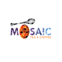 Mosaic Tea & Coffee logo option by Smartz Graphics